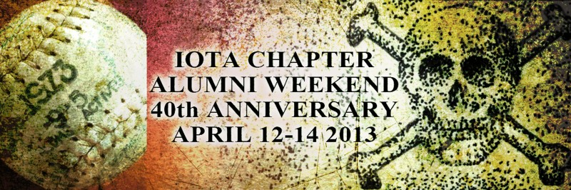 Kappa Sigma, Iota Chapter 40th Annual Alumni Weekend -